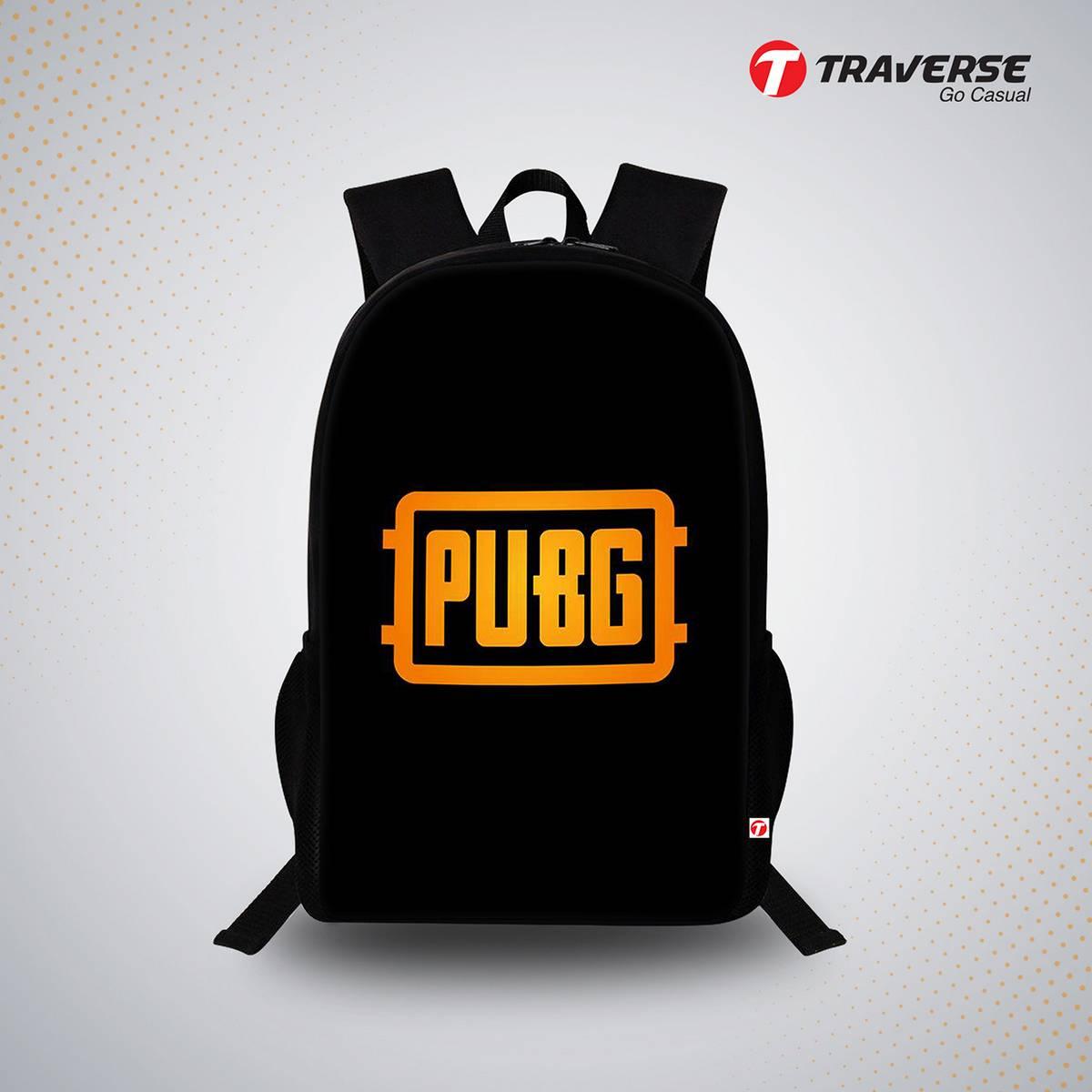 PUBG Digital Print Backpack