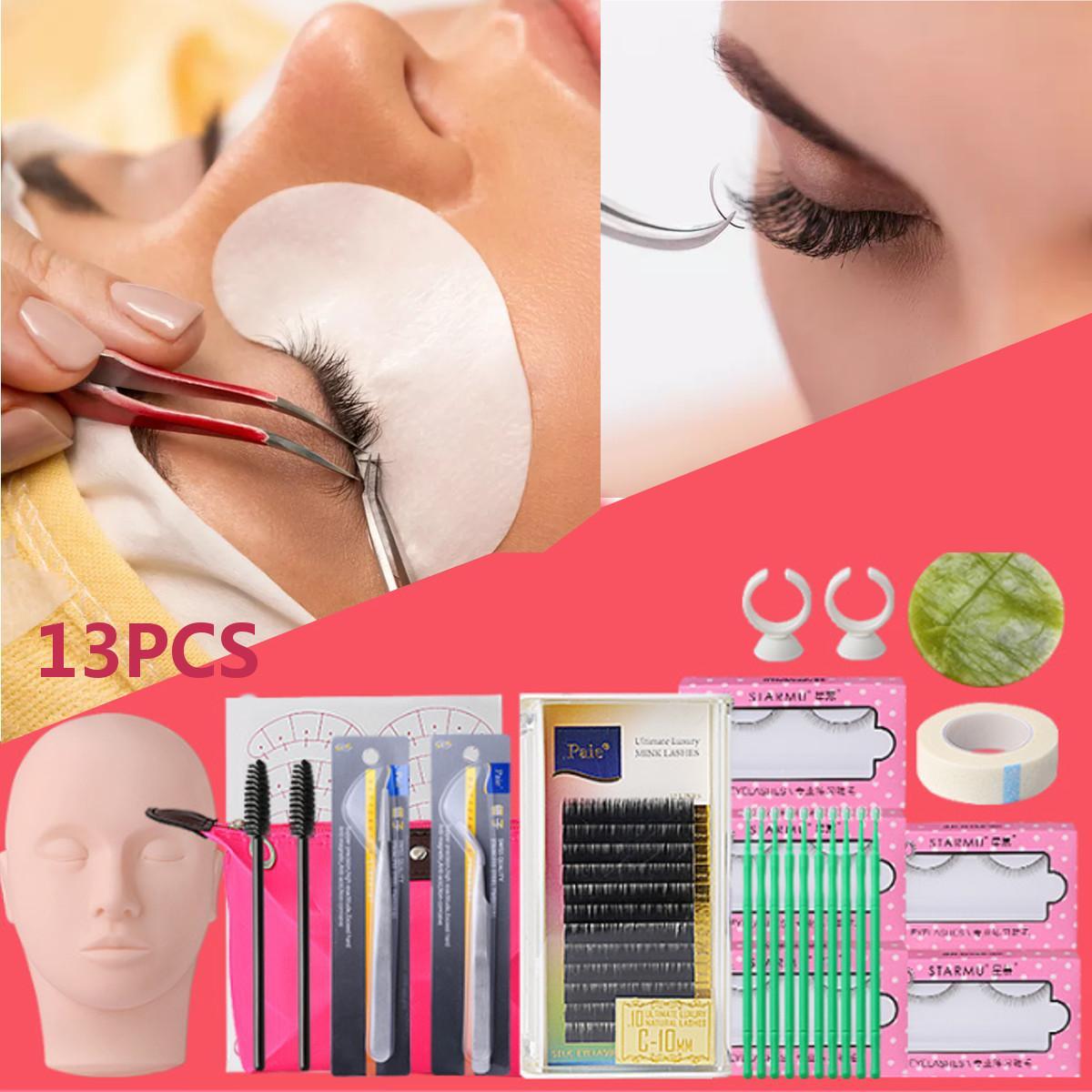 13 In 1 Mannequin Head Lash Eyelash