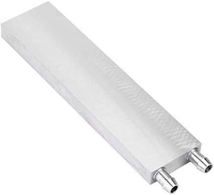 160x40x12mm Aluminum Water Cooling Block for CPU Heat sink Cooler Peltier Plate