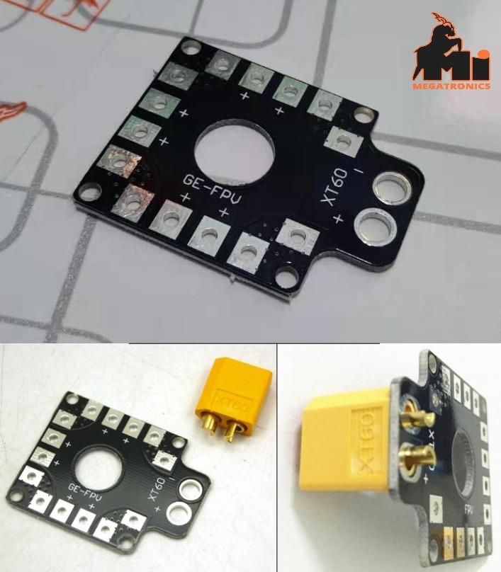 XT60 Mini Power Distribution Board quadcopter RC