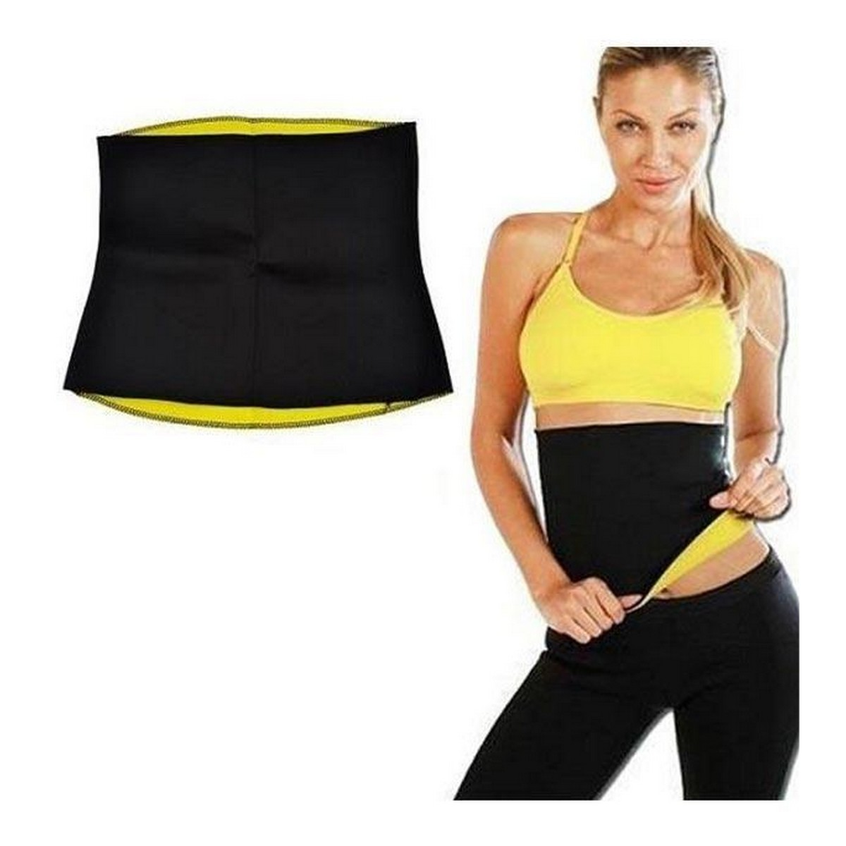 Men Women Waist Trainer Weight Loss Gym Sport Body Shaper Sweat Wrap Belt