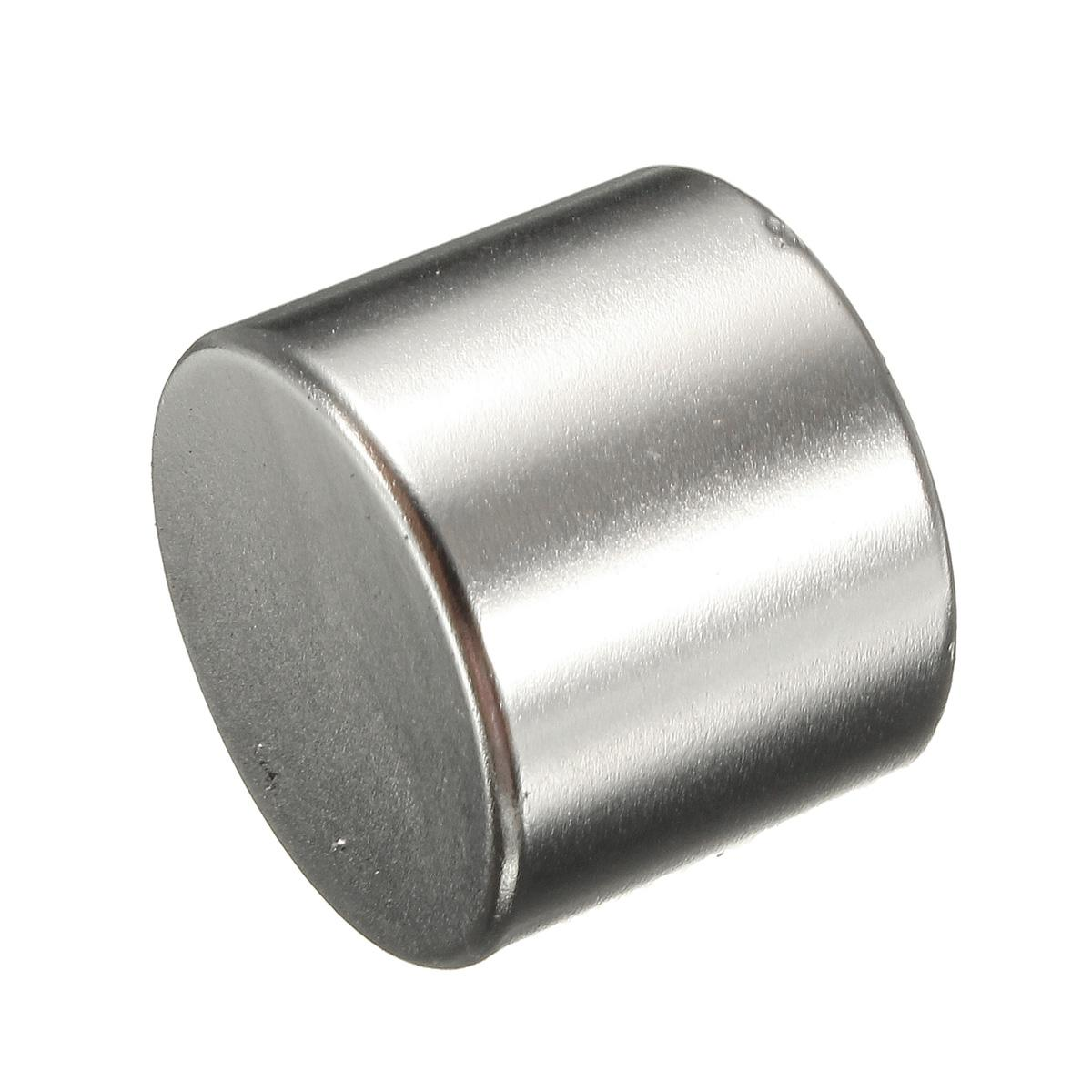 The Old Tree N50 Strong Small Disc Round Cylinder Magnet 25 mm x 20 mm Rare
