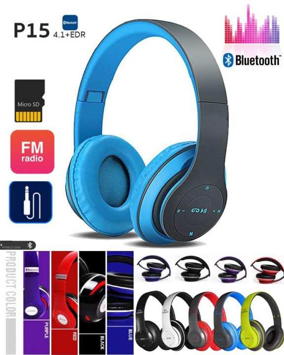 P15 - Premium Quality Deep Bass Wireless Headphones