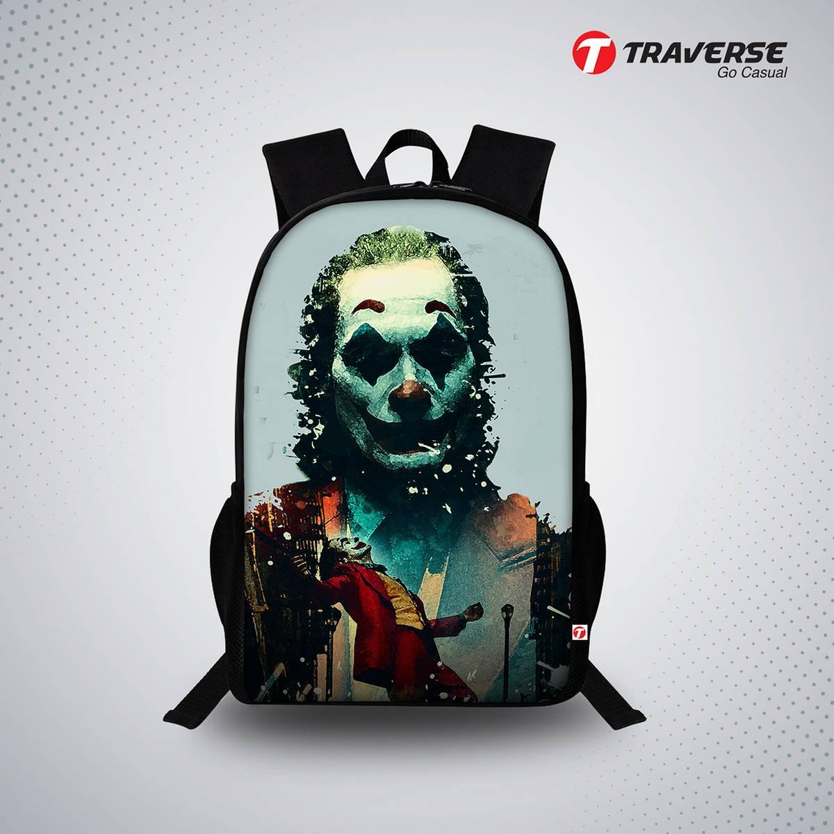 Joker Digital Print Backpack