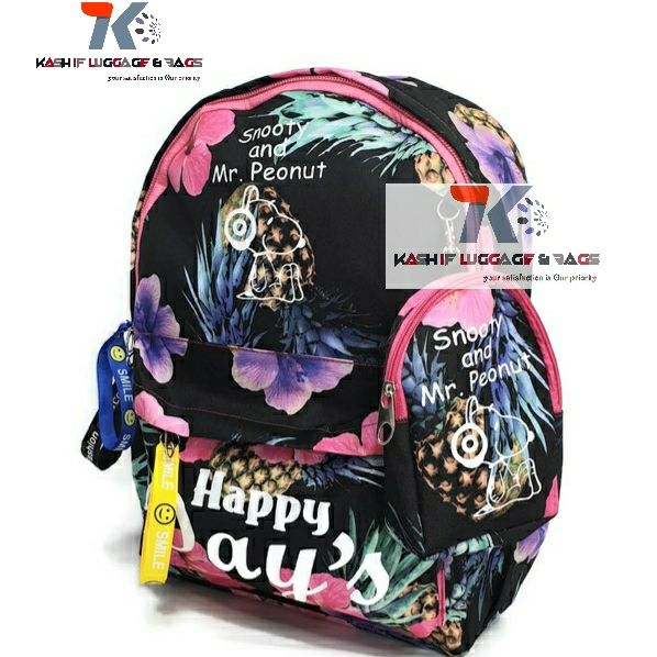 Colorful Floral Printed School Backpack For Girls Canvas Design Women Backpack Casual School Bag 9 and 10th Girls Students