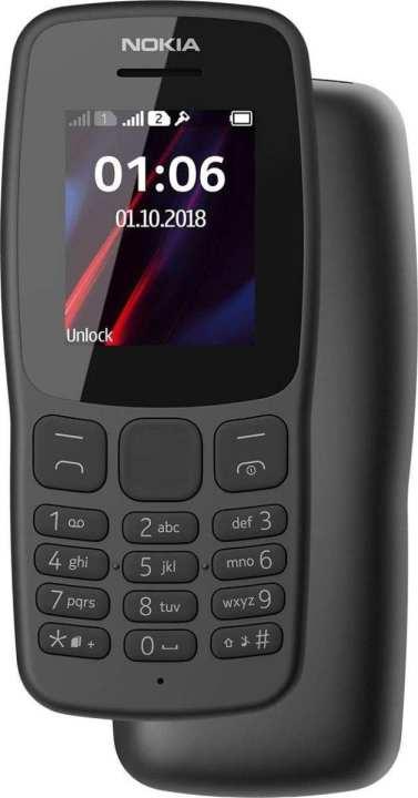 "Nokia 106 - 2018 - 1.8"" - Dual Sim - Dark Grey"