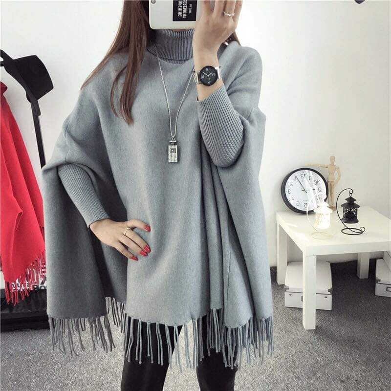 Simple Poncho For Girls or  Women By Kk Garments