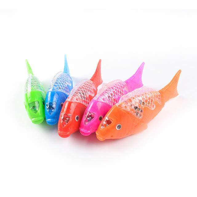 Electric Fish To Funny Ground Walking With Music Sound & Lighting