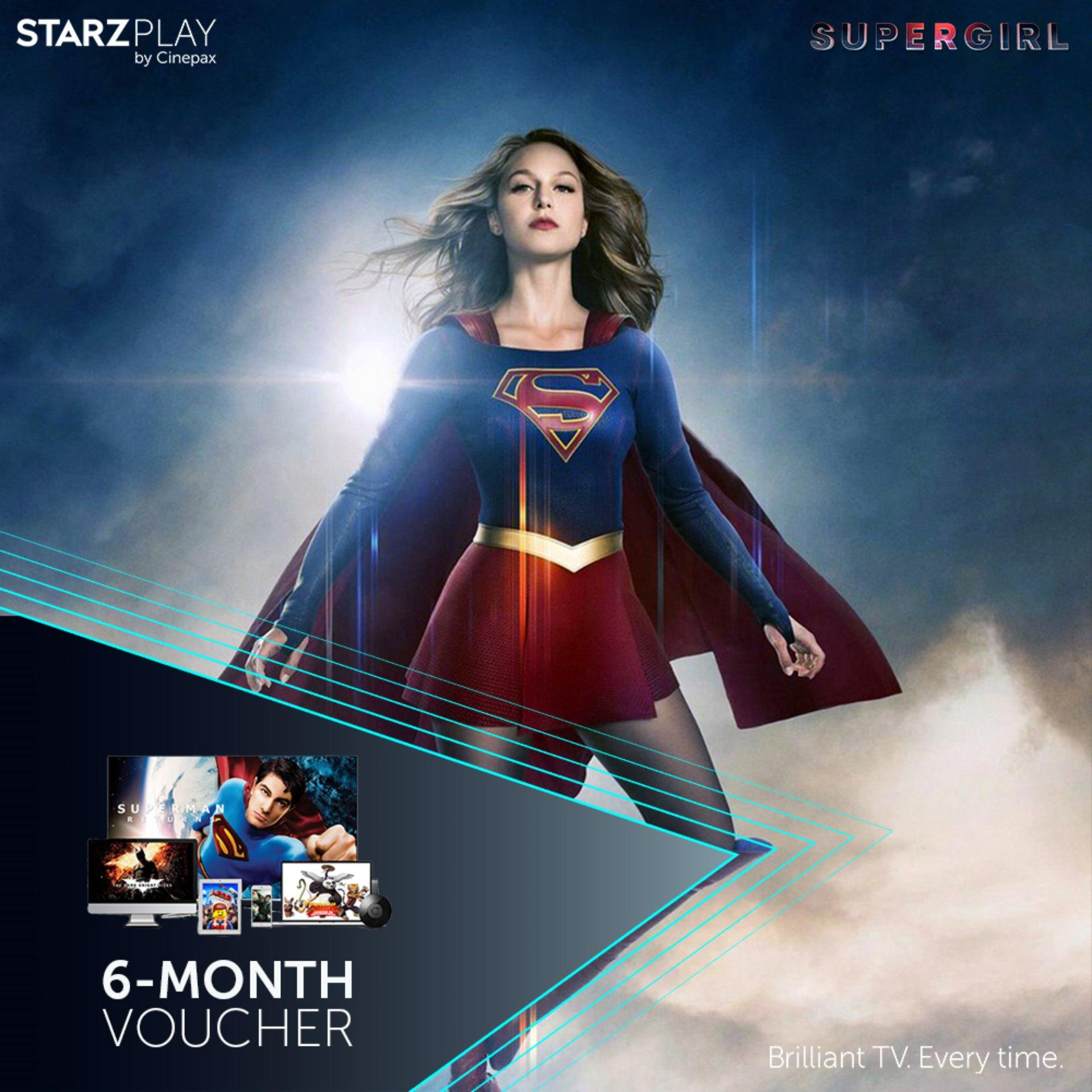 STARZPLAY by Cinepax 6 Months Subscription Voucher