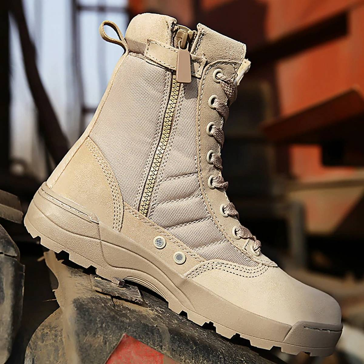 Swat Boots Outdoor Military Breathable Army Desert Hiking Shoes