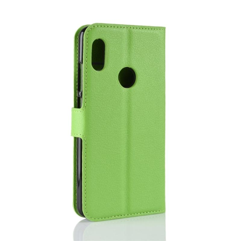 For Xiaomi Redmi Note 5 Pro Litchi Texture Horizontal Flip Protective Leather Case with Holder & Card Slots & Wallet : Buy Sell Online @ Best Prices in ...