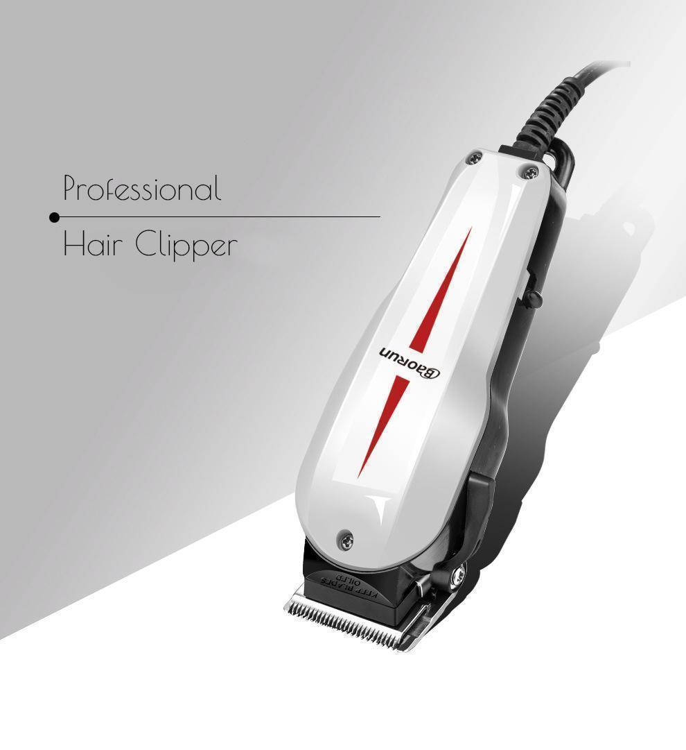 BaoRun 12 Pro Electric Hair Clipper Beard Shaver Trimmer Grooming Sharp  Blade Low Noise 12V