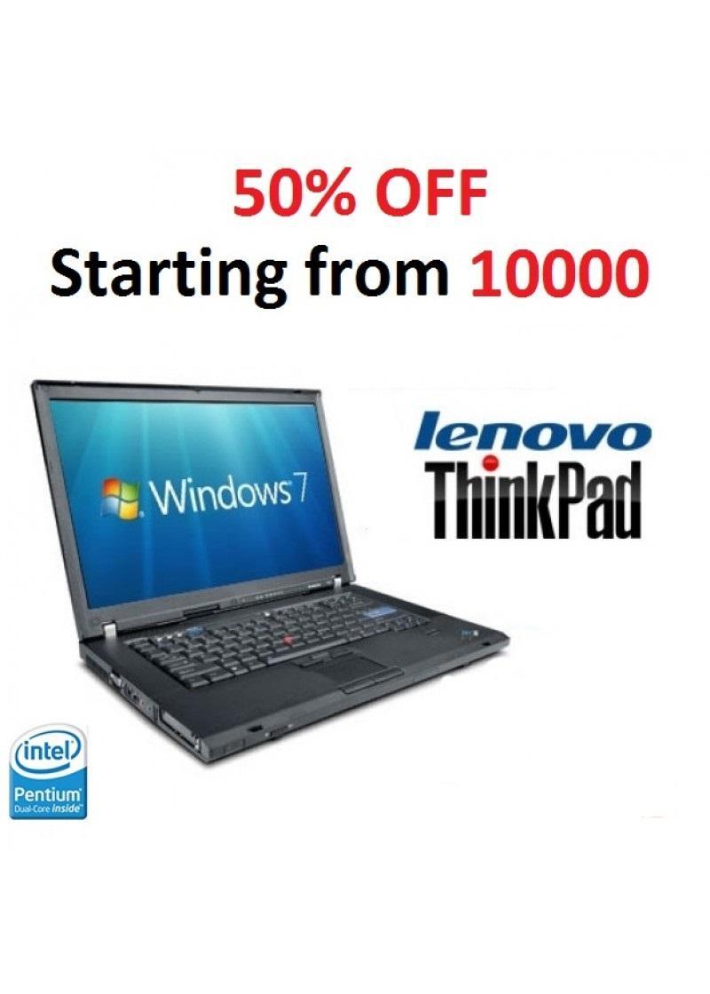 Lenovo ThinkPad T61R / C2D / 2 4 / 2GB RAM / 80GB HHD / DVDRW / WIFI /  14 1