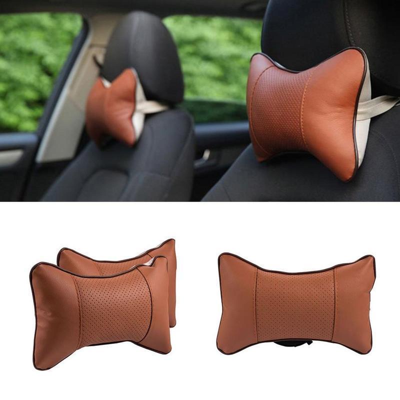 Car Head and Neck Cushion 2 pcs Car Seat Pillow.