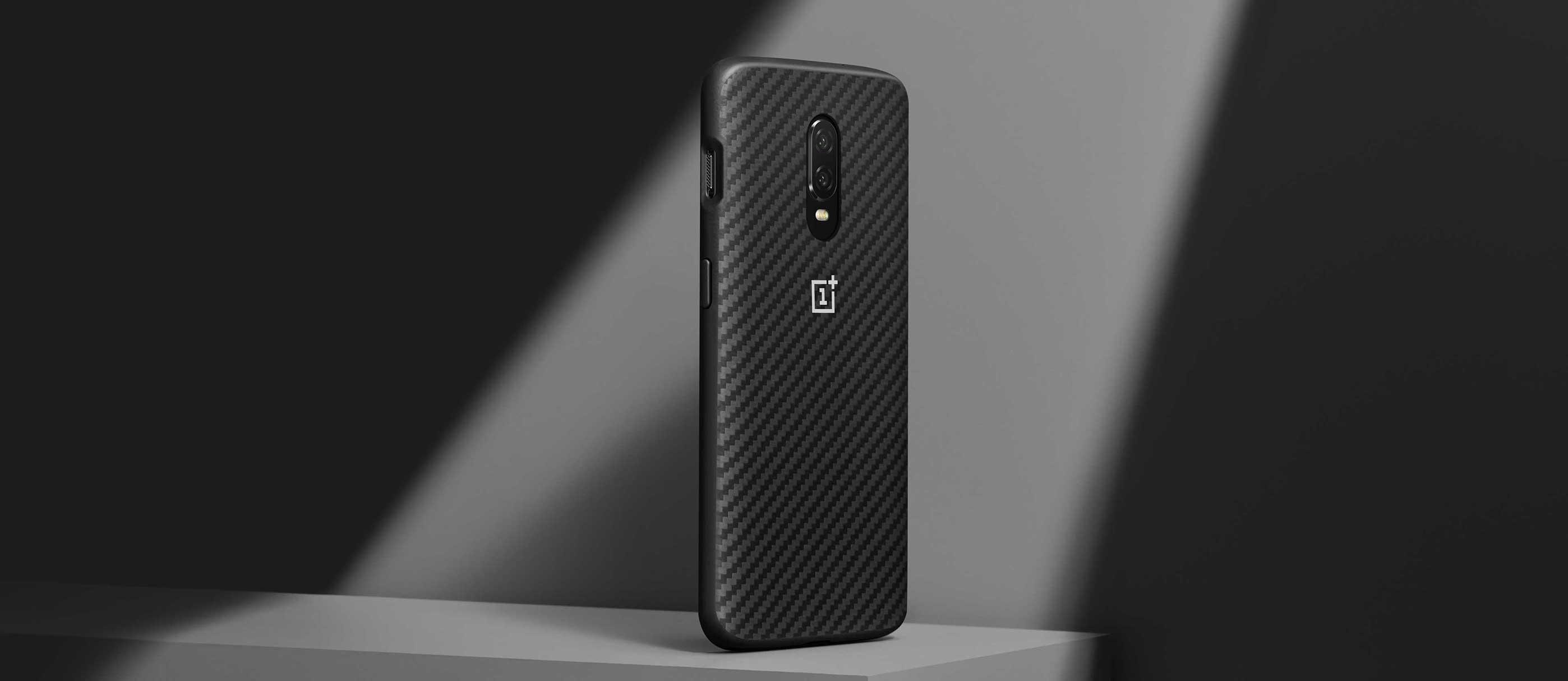 new concept c51ff fa685 OnePlus 6T Karbon Bumper Case - Official