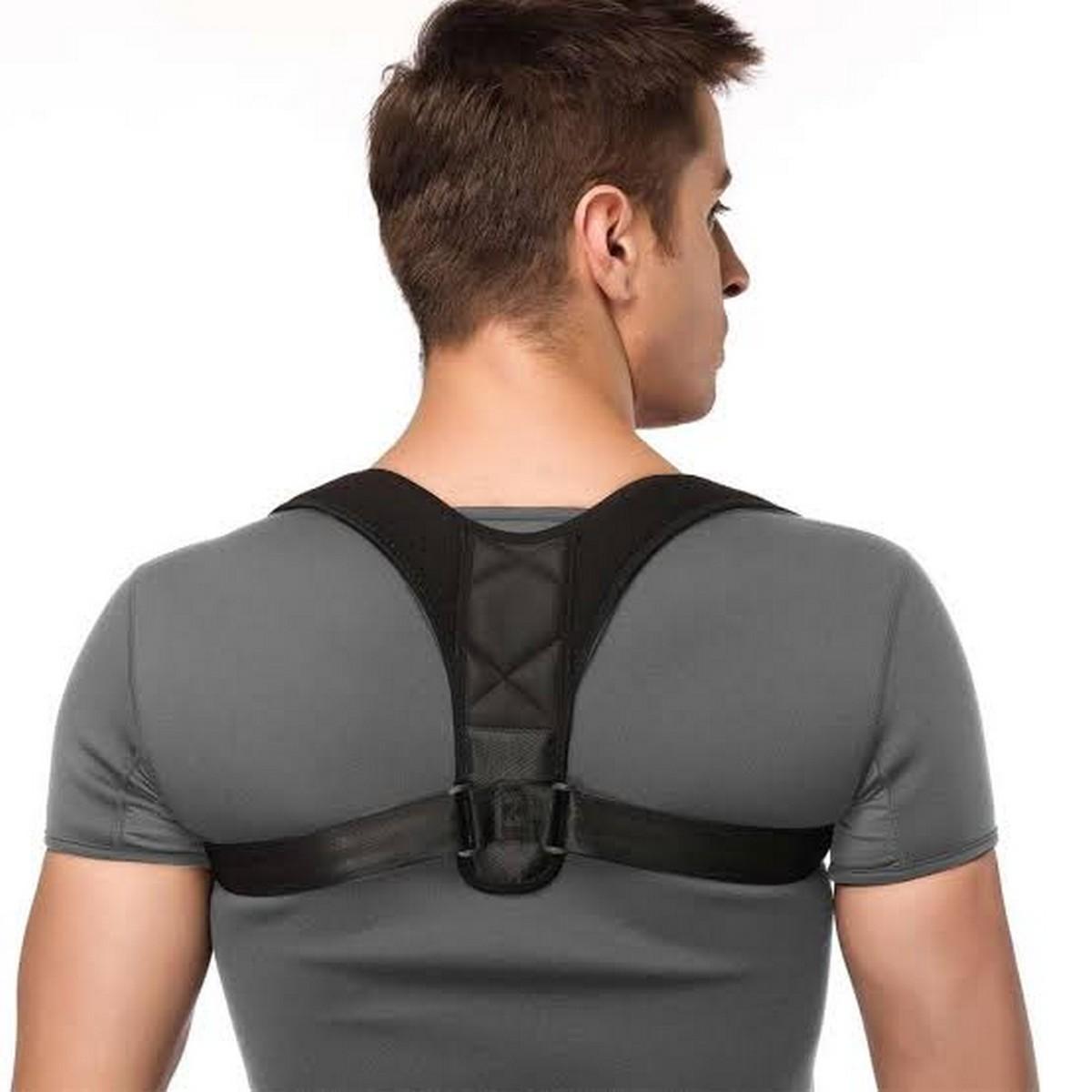 Adjustable Back Posture Corrector Clavicle Spine Back Shoulder Lumbar Brace Support Belt