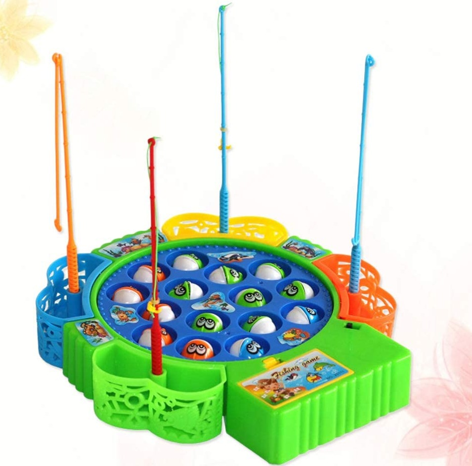 Musical Fishing Game For Kids - 15 Fishes