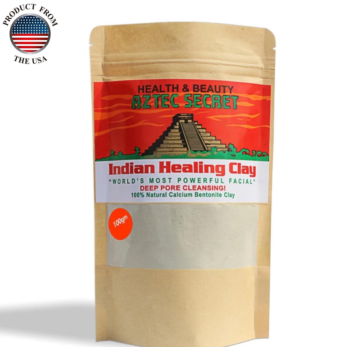 Aztec Secret Indian Healing clay 100gm Sample