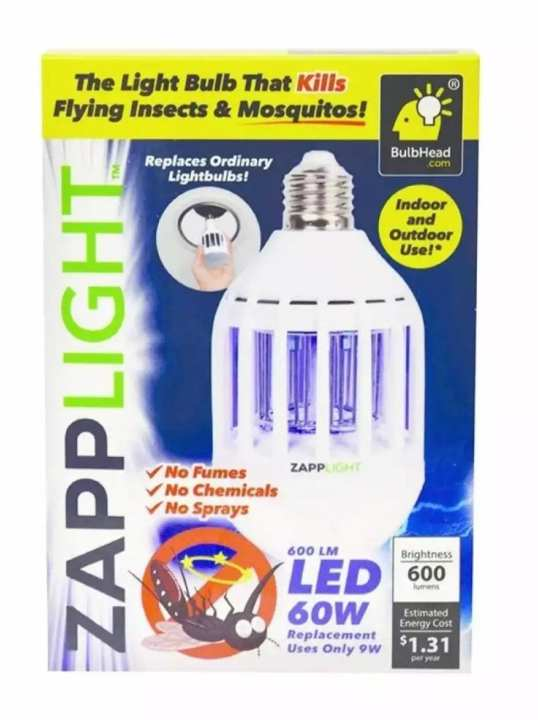 Flying Insects and Mosquito Killing Bulb - Zapp Light