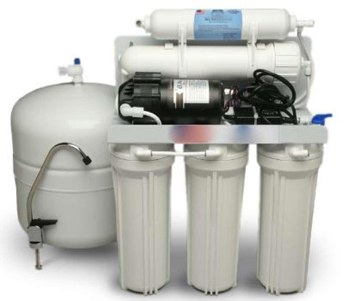 1 x Reverse Osmosis Water Purification System-5 stage (100% Clean Water  Machine)