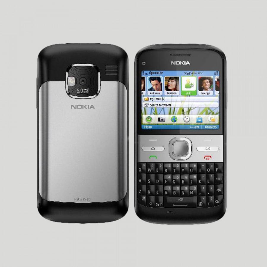 Nokia E5 - Wifi - 3G