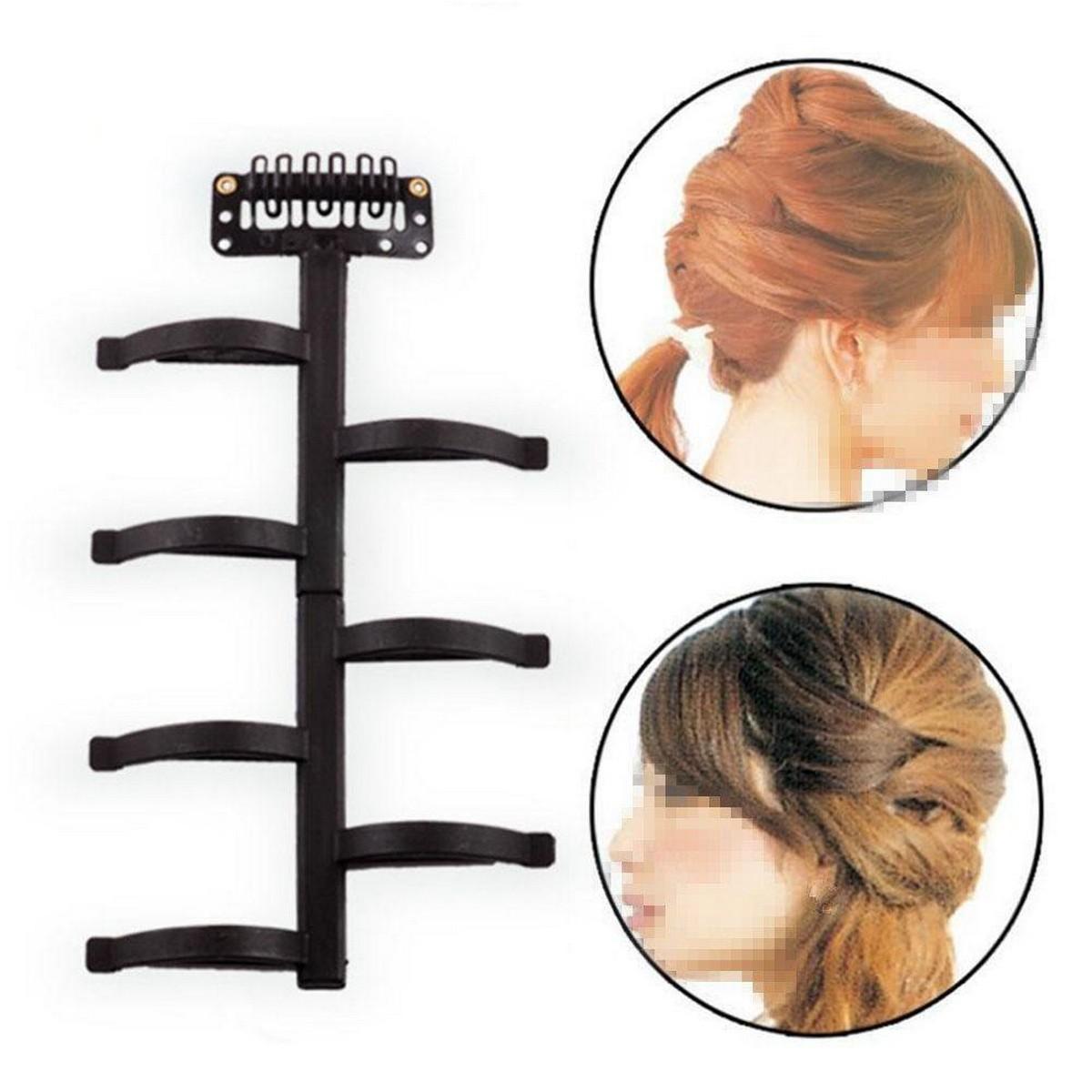 Magic French Lady Women Hair Braiding Tool Weave Braid Roller Hair Twist Styling Clip Bun Maker DIY Hair Band Accessories