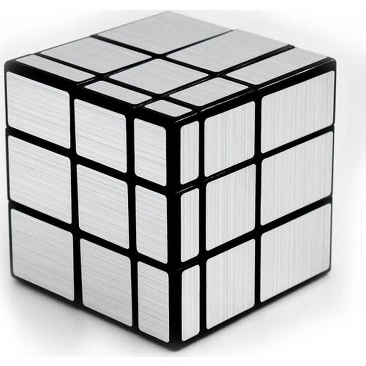 Original QIYI Mirror Rubiks Cube - Rubik's Cube for Kids - Silver -  Very Smooth 3x3x3 Rubics Magic Speed Cube Puzzle Toys for Children Shape Block