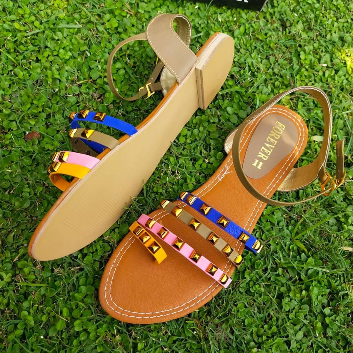 Flat Fancy Sandal for Women SH58