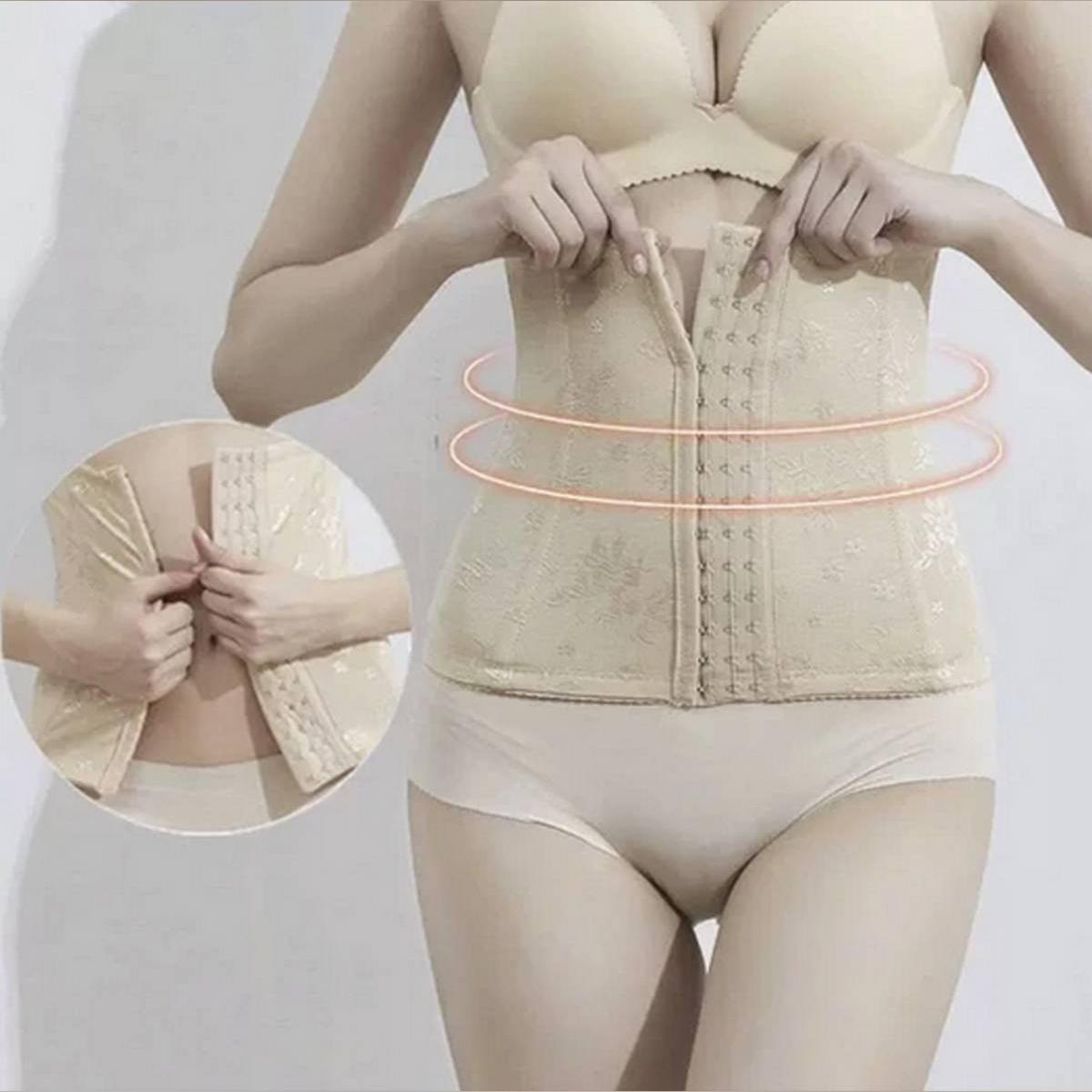 Ladies Tummy Control Belt With Front Closure
