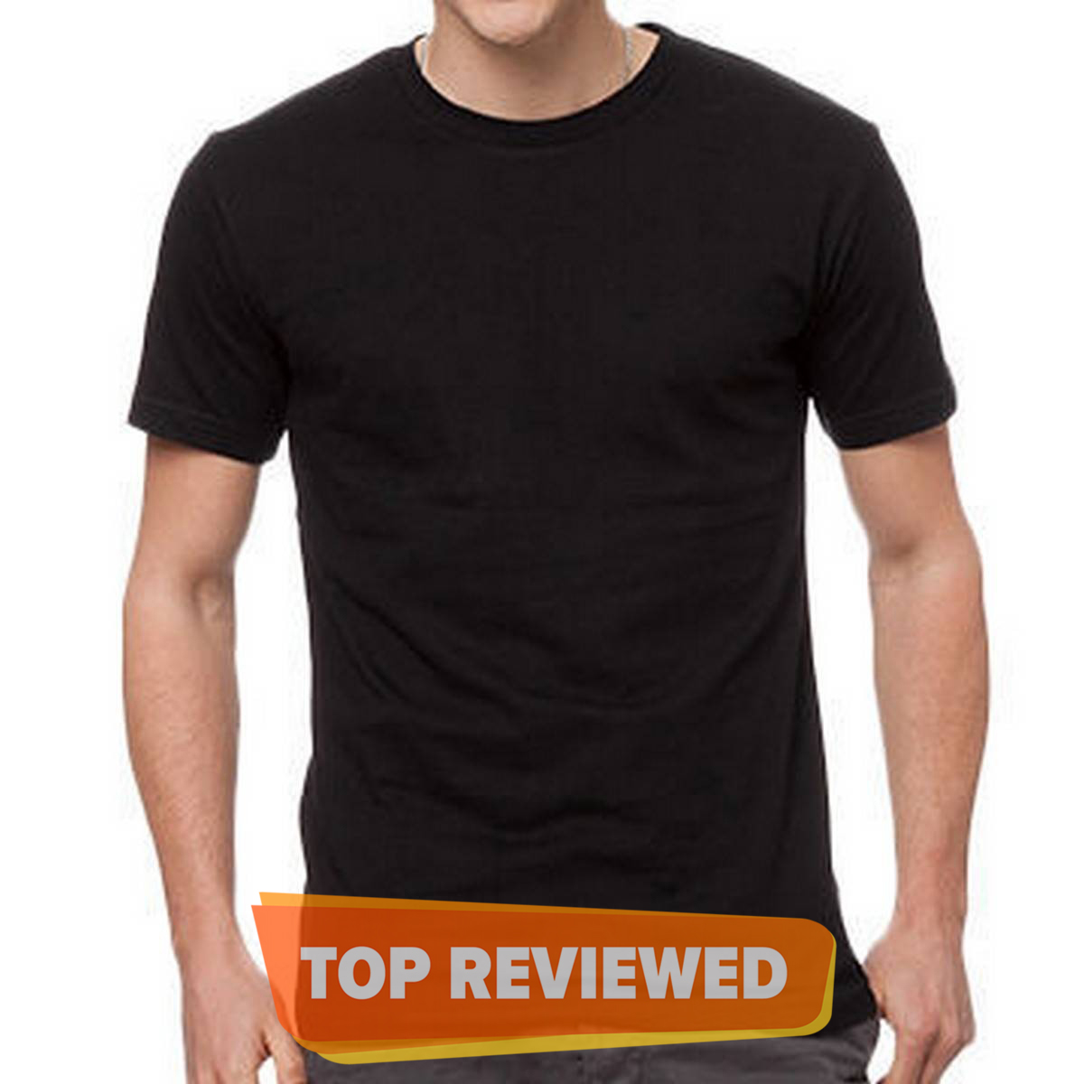 The Vintage Clothing Black basic premium T shirt