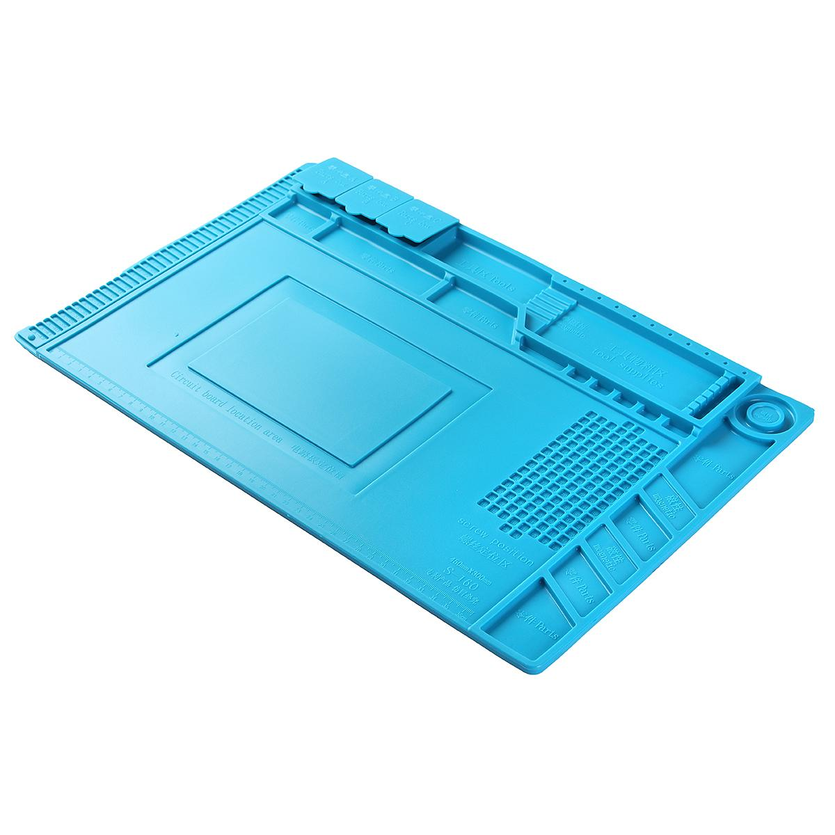 Heat Insulation Silicone Pad Mat Fr Phone Repair service Maintenance Heat Solder