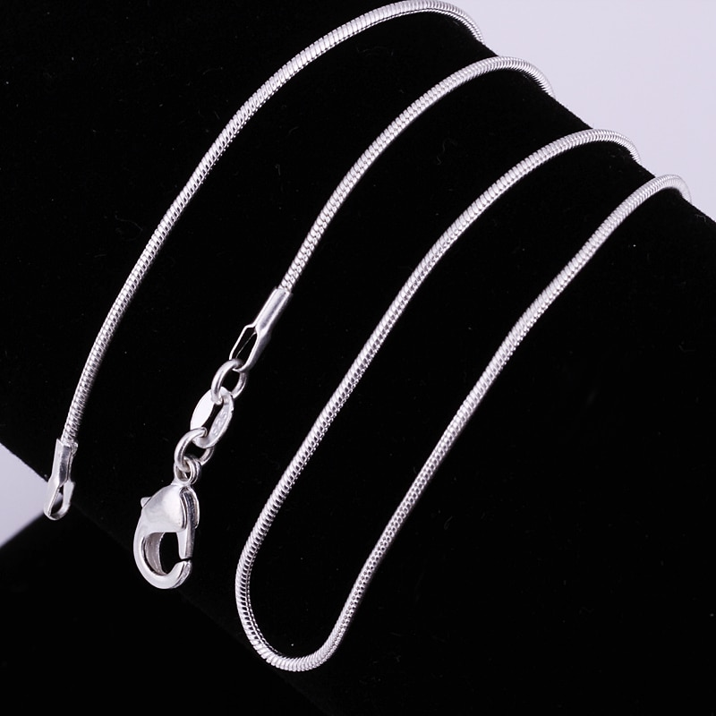 American Style Silver Trendy Rope type New Design Neck Chain For Men