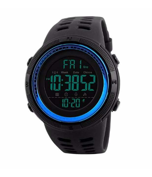 SK1251- Resin - Unisex Digital Sports Watch