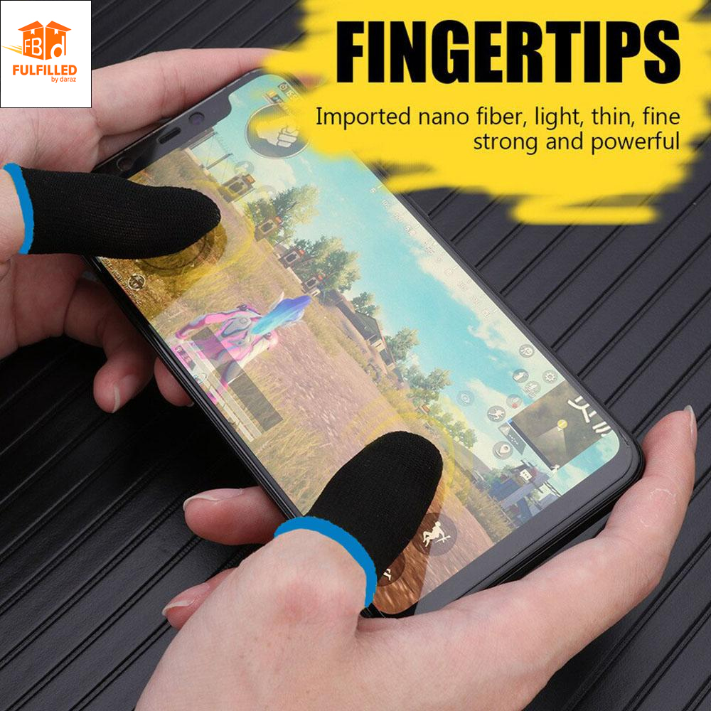 PUBG Non-Slip Thumbs Gloves for playing Games Breathable Mobile Finger Sleeve Touch Screen Finger Controller Cover