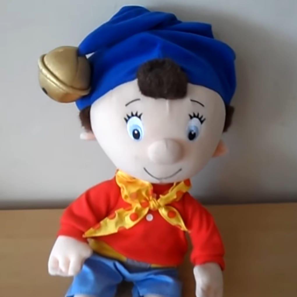 Noddy Plush Soft Stuffed Toy For Kids - Medium