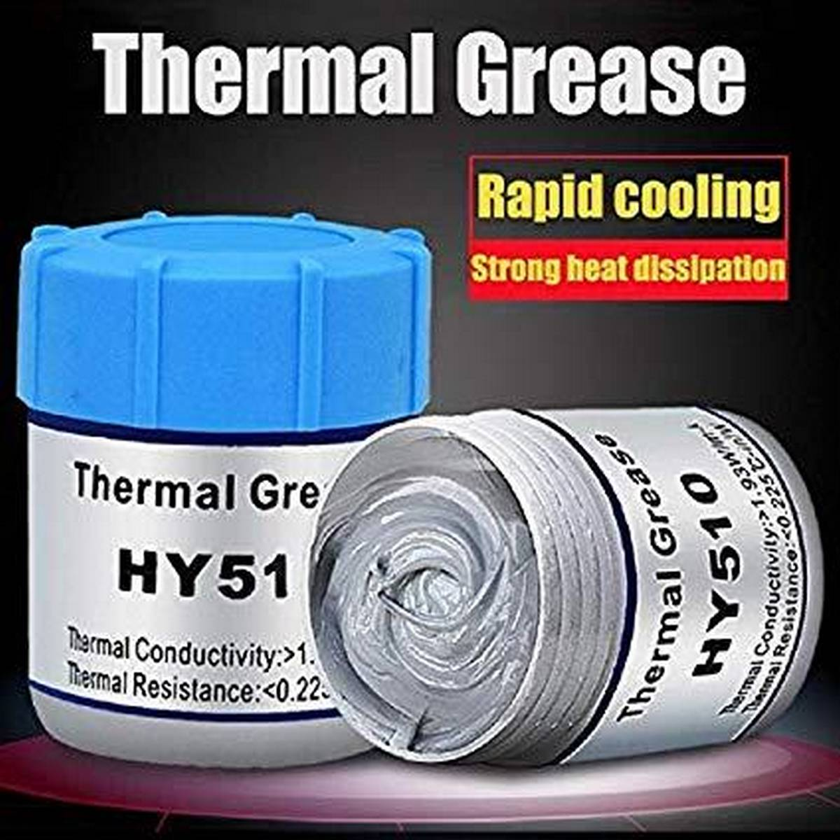Thermal Paste CPU Paste Heat sink Past Thermal Compound Carbon Based High Performance