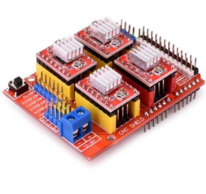 Arduino CNC Sheild with A4988 Module for Arduino Uno Arduino Mega Arduino Due Arduino Leonardo Stepper Motor