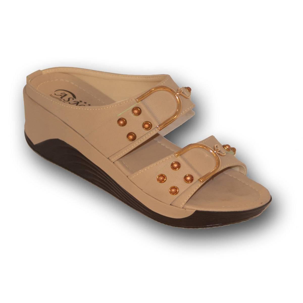 Every Season New Women's Beige Fashion Flat Sandals For Women Comfortable Summer Sandals For Women Fashion Sandals