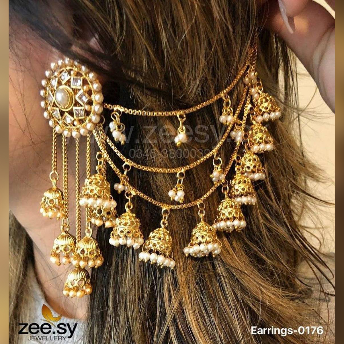 Bahubali Fashion Jhumka Wedding Trend Fine Fashion Jewelry Earring