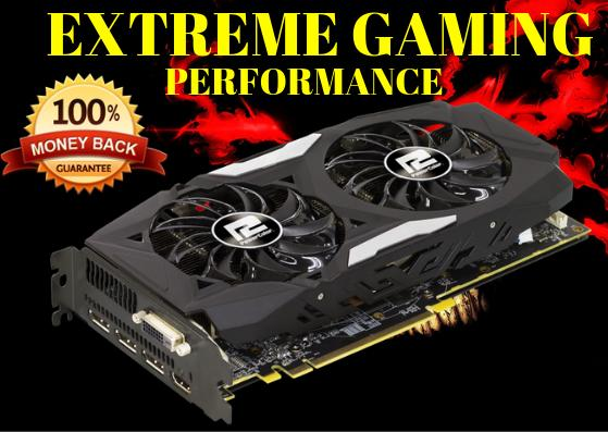 Red Dragon Radeon RX 470 4G 256Bit Back Plated Extreme Gaming