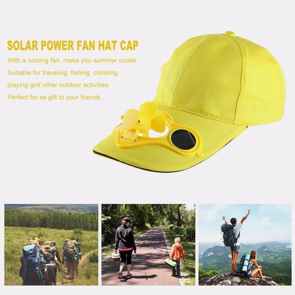 ef48173d5c1 Product details of TE Summer Sport Outdoor Hat Cap With Solar Sun Power  Cool Fan For Cycling