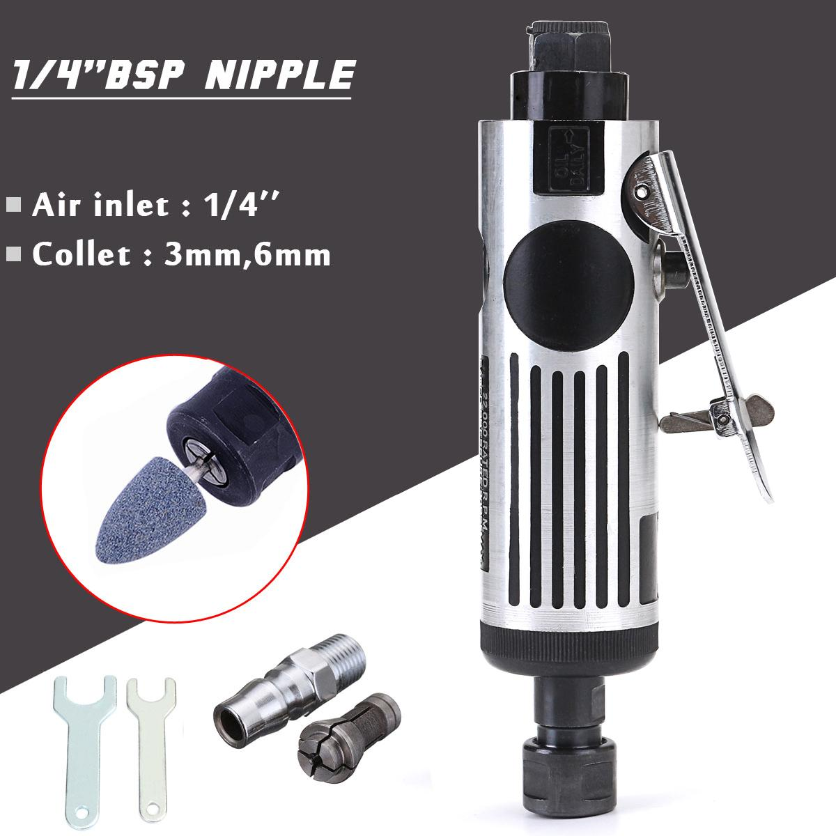 Automotive Tools & Supplies 1/4'' Angle Die Grinder Pneumatic Polisher Cleaning Cutting Air Tool