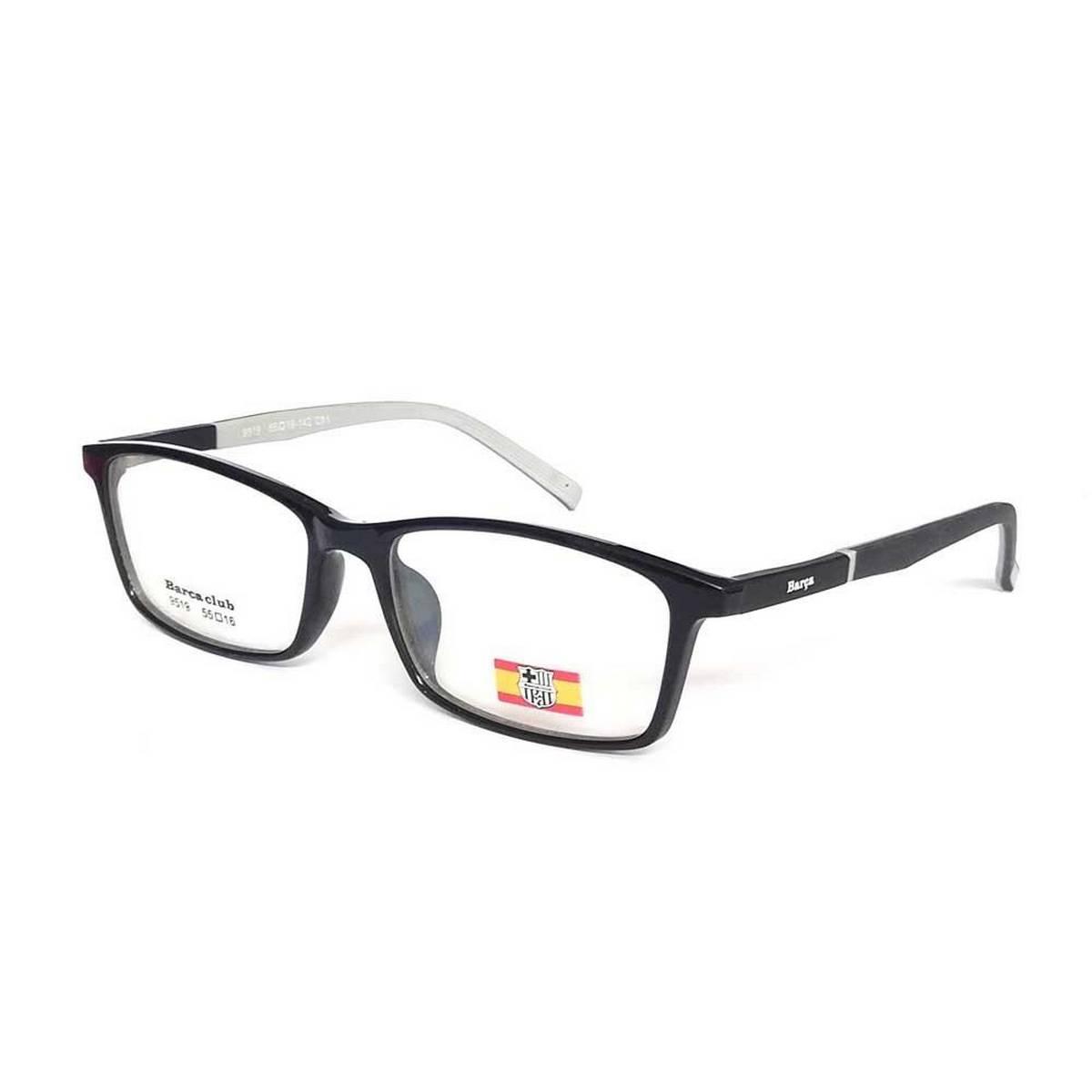 Rangeen Eyesight Frame Glasses for Men/Women Black