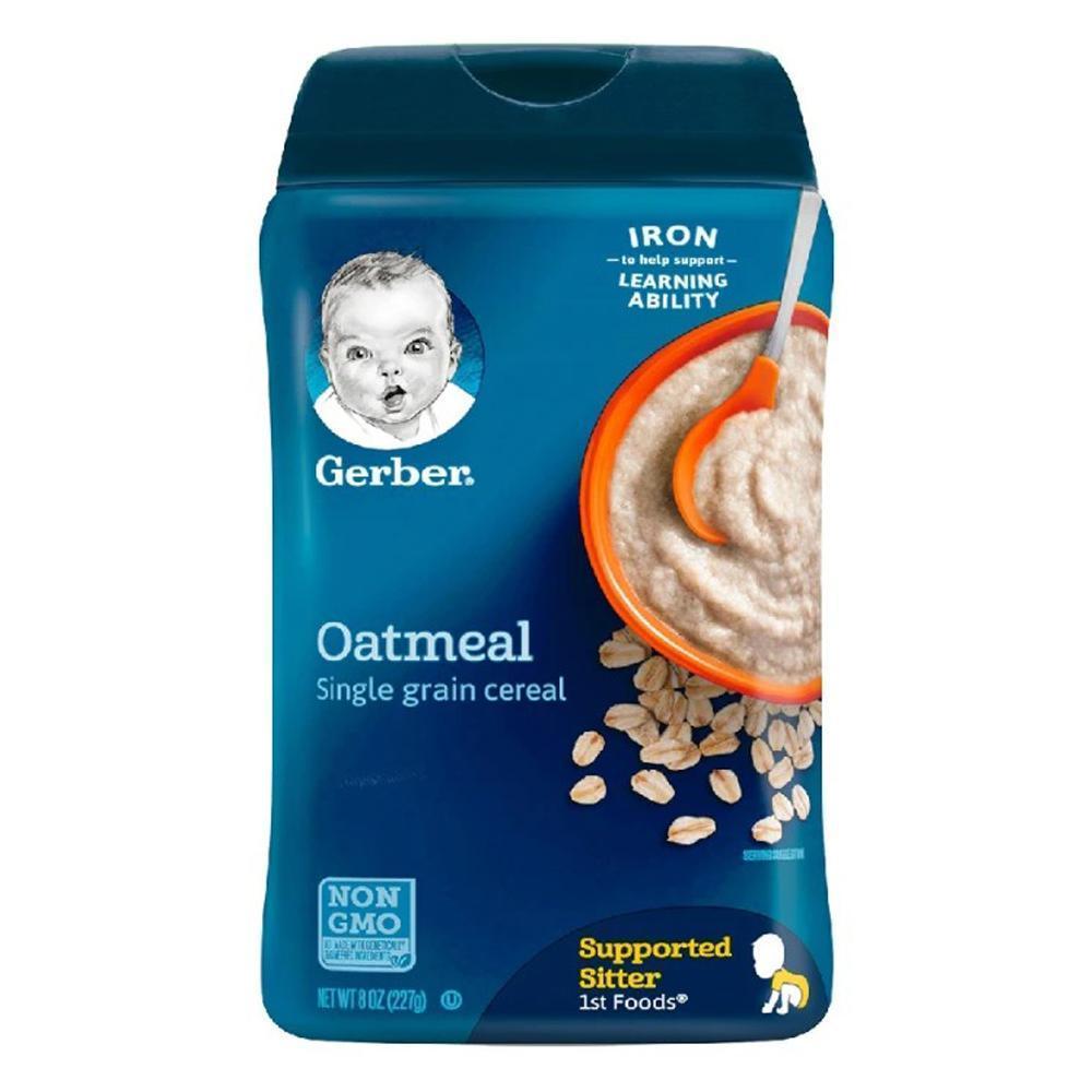 DS Gerber Oatmeal Single Grain Cereal