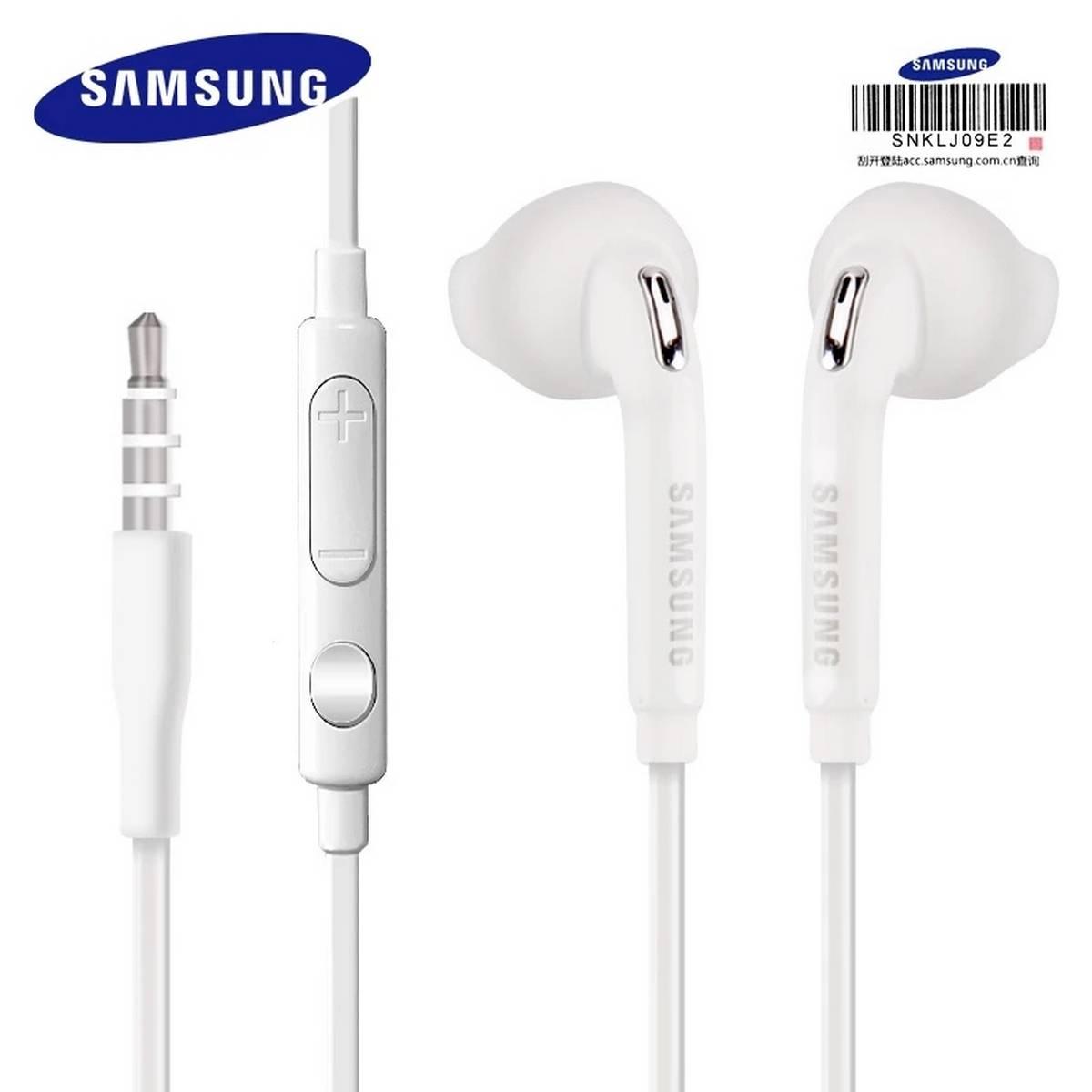 100% Original Samsung handfree EO-EG920 Earphone In-ear With control Speaker Wired 3.5mm headsets With Mic 1.2m In-ear Sport Earphones