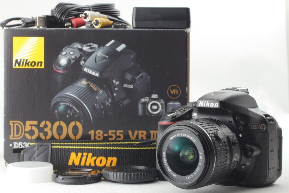 Nikon D5300 Kit DSLR (18-55mm)