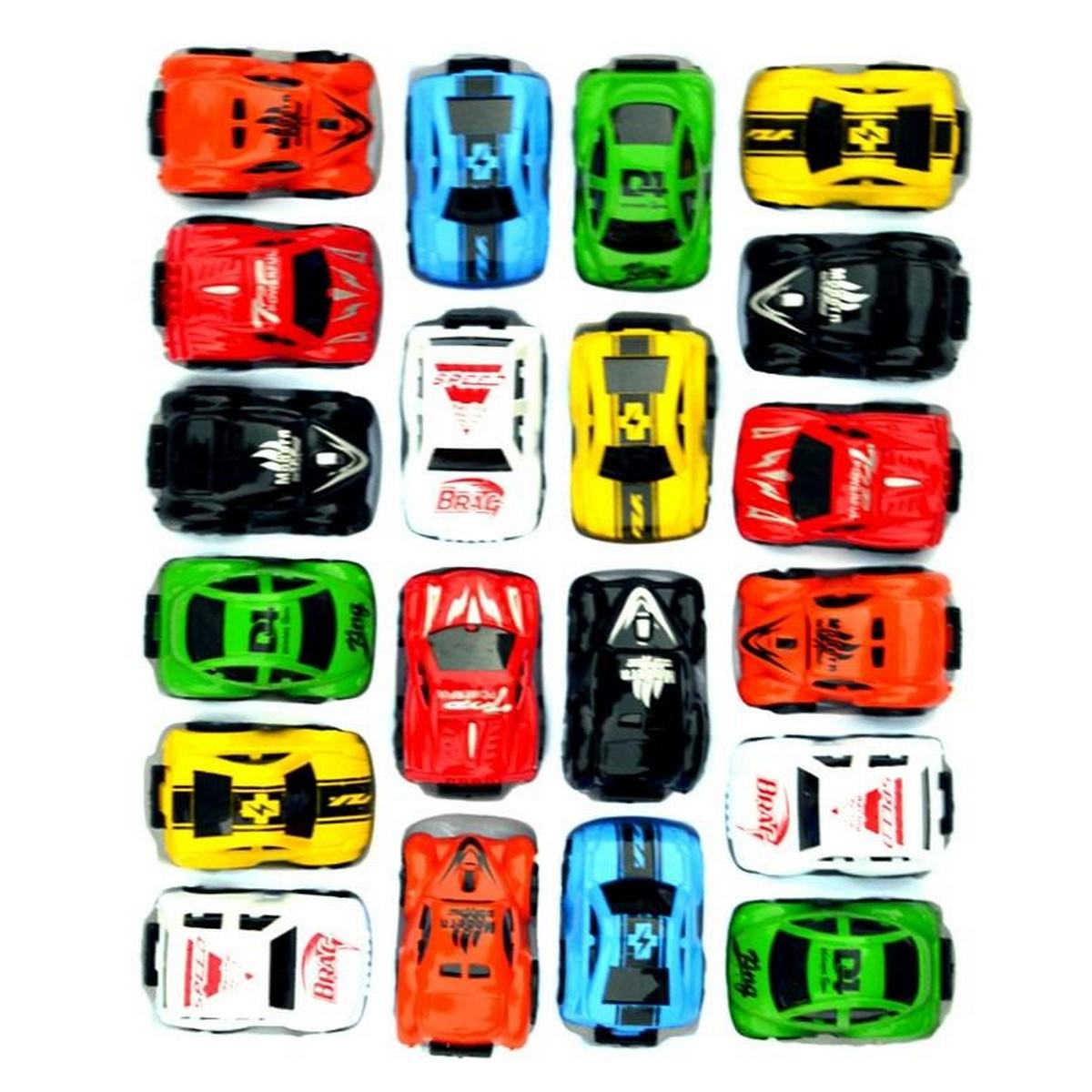 Pack of 20 - Mini Cars for Kids