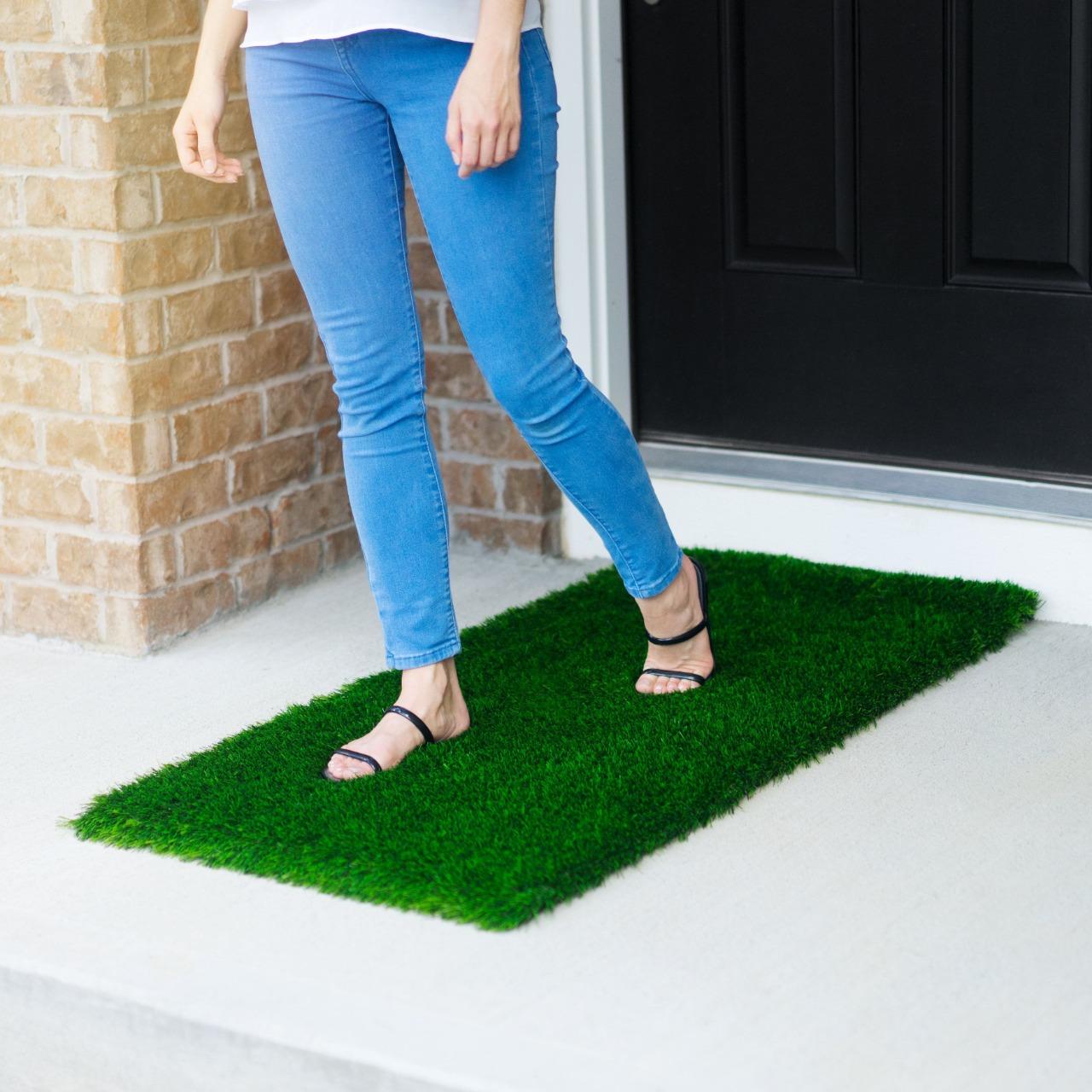 Floor Mat / Green Grass Mat / Bath Room Mat / Floor Mat / Entrance Mat / PVC Rugs High Quality Door Mat