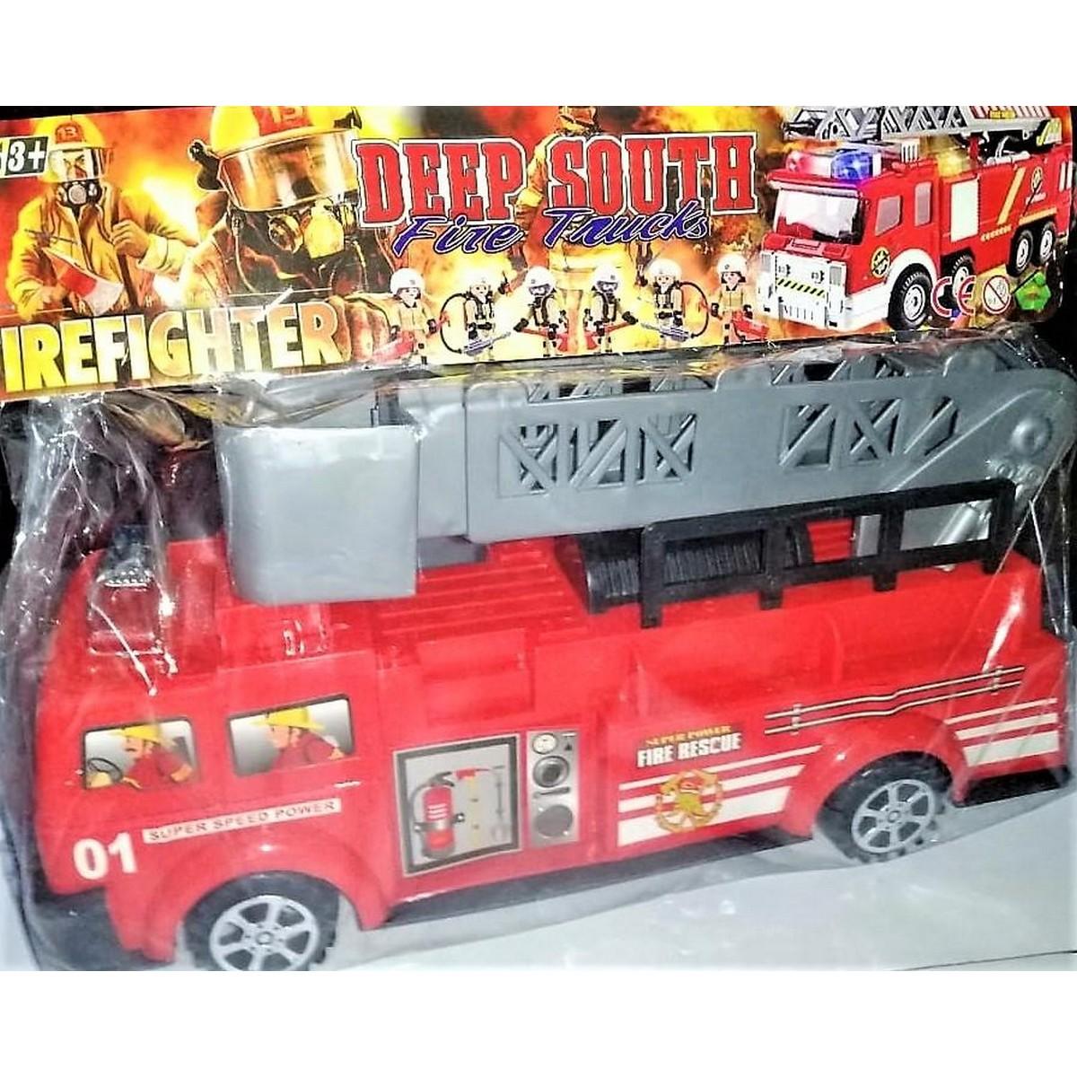 Fire Brigade Truck Fire Fighter Truck Red Color Attractive
