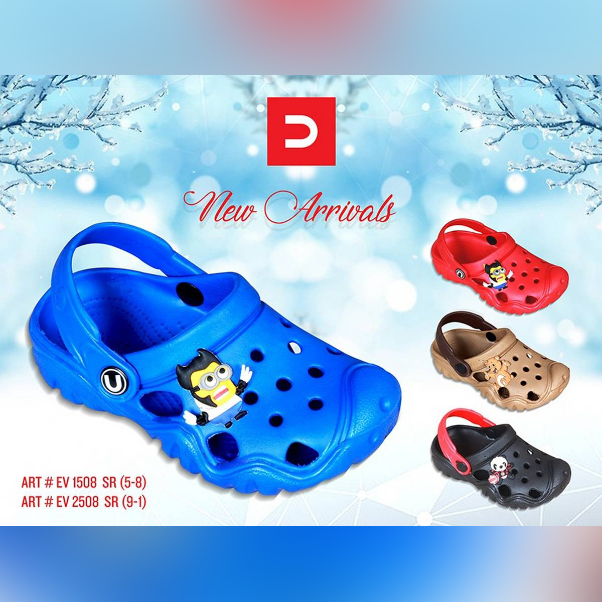 Kids Crocs  Kids Softy  Water Proof Casual Slippers